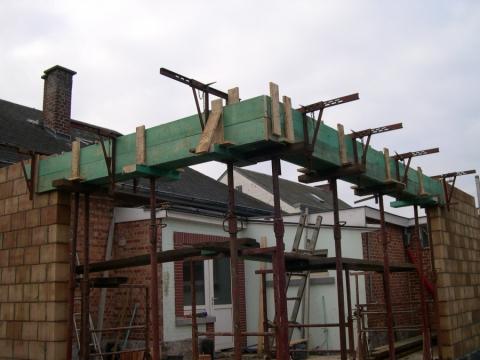 Entreprise de coffrage escalier en r gion wallonne - Comment faire un balcon en beton ...
