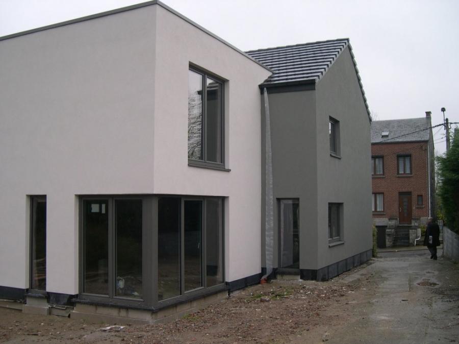 Entreprise de restauration de maison vedrin en r gion for Restauration facade maison